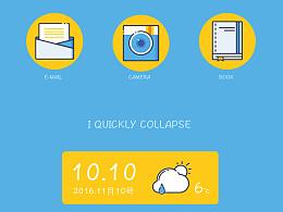 GUI MBE主题图标 app展示 小清新设计
