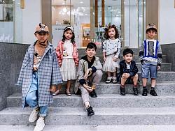 杨燕作品与Babala童装品牌合作时装秀