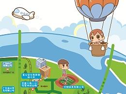 琶洲地图设计