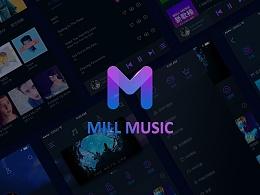 MILL MUSIC音乐app--概念设计