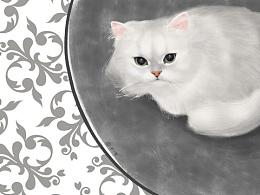 原创•写实类猫咪