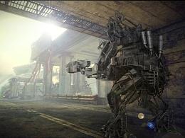 黑客帝国中的APU矩阵机器人