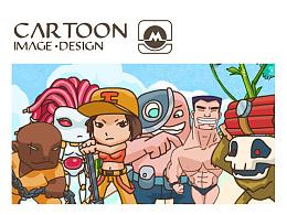 游戏美术角色设计(小八)
