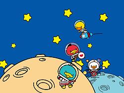 鸭嘴兽男孩之太空旅行系列壁纸【PC壁纸、安卓壁纸、iPhone壁纸、iPad壁纸等】