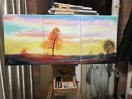 近期油画作品