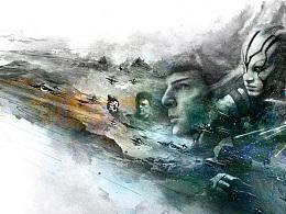 《星际迷航III超越星辰》定制版海报