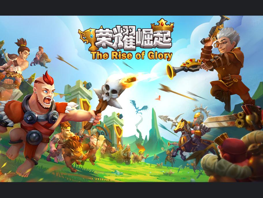 欧美囹�a���_游戏手游ui界面图标icon宣传图banner图欧美简易q版风格战争游戏