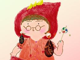 市集:小红帽主题