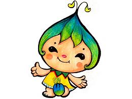 小绿绿,随手小吉祥物一枚