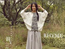【韵文】RHYME原创服装设计女式棉麻长袖装蝙蝠袖民族风t恤2013春夏新款