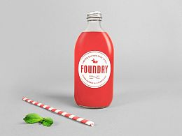 成都摩品包装设计公司-Foundry Soda Syrup苏打水糖浆品牌包装设计欣赏