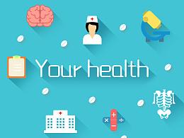 GUI作品展示-原创ICON设计-Your health