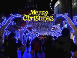 2011圣诞世贸广场夜景