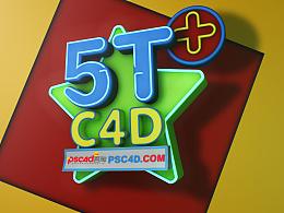 C4D练习-海报