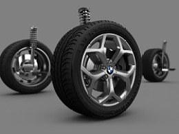 宝马X6车胎