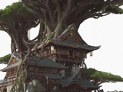 杜震-建筑概念设计《腾仙阁》