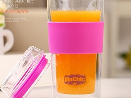 玻璃杯耐高温有盖高硼硅玻璃杯厂家