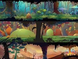 一组森林系场景    喜欢大自然