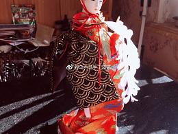 日本手工和风人偶真的非常漂亮啊!每个角度都很美!