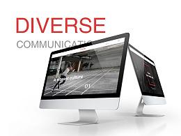 DIVERSE多为传讯-官网设计