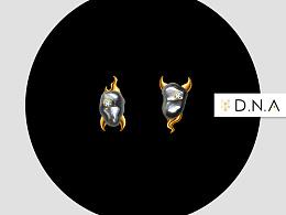 珠宝设计——两只独眼的孤魂野鬼