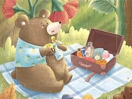 旅行的小熊