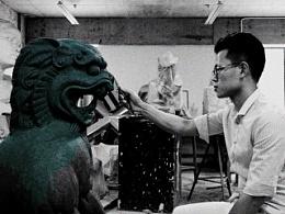 2015 泥塑狮子之一( 定件)