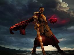 轩辕剑天之痕平面海报设计