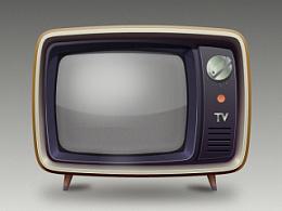 临摹电视机