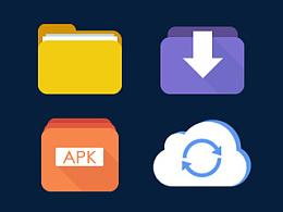 某暂停项目APP的一套icon(部分)