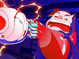 猪猪侠大电影《英雄猪少年》开场动画+二维创作部分大集合第一弹