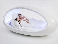 最美的鸡蛋设计  玻璃钢蛋形床结构元素设计