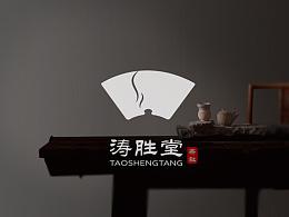 涛胜堂茶社VI设计