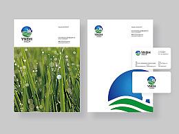 能源公司logo设计  能源公司商标设计 名片设计  海报设计 能源公司品牌形象设计