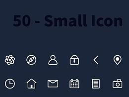 50个线性小图标