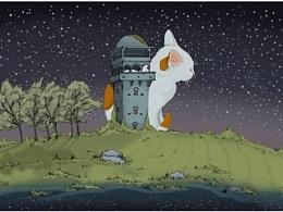 (创意手绘)梦游碉楼