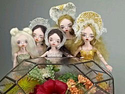 自制六分陶瓷人偶(陶瓷BJD、陶瓷娃娃)