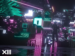 XIII VISION-CLUB MIAMI LIVE VISUALS PREVIEW
