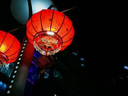 中关村夜景拍摄