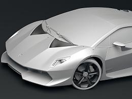 极品飞车Sesto  Elemento2014建模