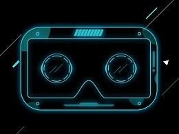 VR移动应用界面
