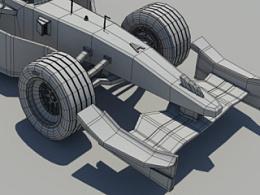 F1模型线框图