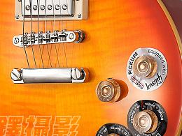 电吉他拍摄乐器拍摄-Epiphone 电吉他一把