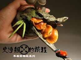 究極model studio 草莓箭毒蛙系列-史詩般的旅程