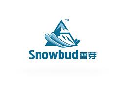 雪芽丨滑雪培训机构丨logo设计