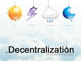 .Decentralization
