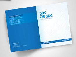 【平面设计】简洁的产品折页设计