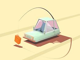 AI小汽车
