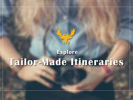 麋鹿旅游-网页设计 旅游类(首页、评论页、列表页、详情页)