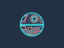 icon设计——纪念阿波罗号登月